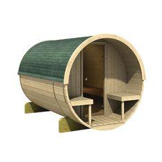 KARIBU finská sauna KARIBU FASSAUNA 2 (66851)