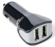 Celly Autonabíječka Turbo (2x USB; 3,4 A), černá
