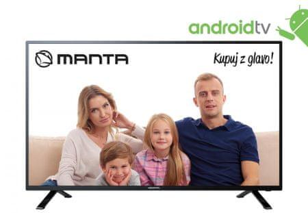 Manta 43LFA69K Full HD LED, Android televizor