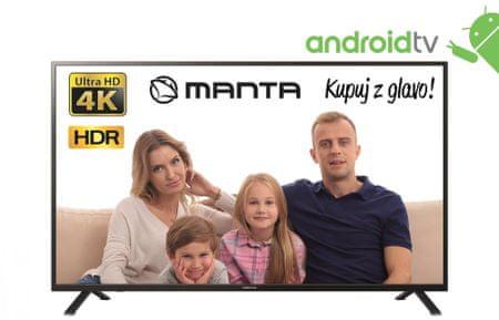 Manta 50LUA69K 4K UHD LED, Android televizor