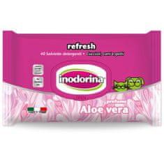 INODORINA Ubrousky Aloe Vera 40 ks