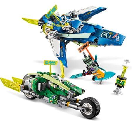 LEGO Ninjago 71709 Hitra vožnja z Jayjem in Lloydom