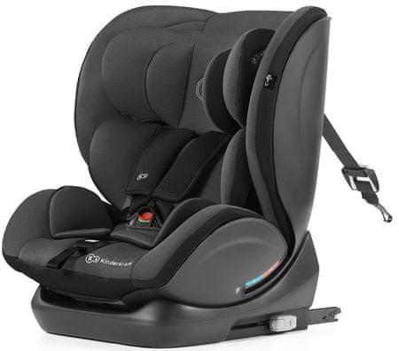 KinderKraft otroški avtosedež Car seat MYWAY with ISOFIX system, črn