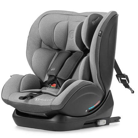 KinderKraft otroški avtosedež Car seat MYWAY with ISOFIX system, siv