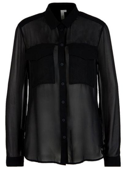 Q/S designed by dámska košeľa 41.912.11.2117 34 čierna