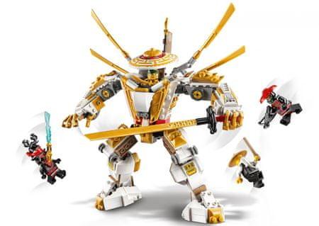 LEGO Ninjago 71702 Zlati robot