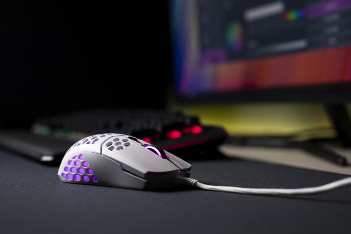 Herní myš Cooler Master LightMouse MM711 (MM-711-WWOL1) odolnost