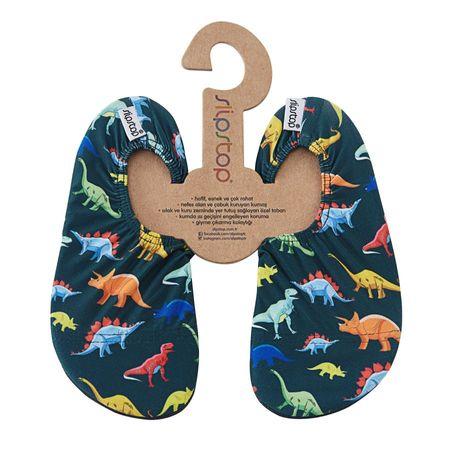 Slipstop fiú papucs Dino SS17120123 21-23, kék