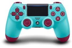 SONY kontroler bezprzewodowy PS4 Dualshock 4 Berry Blue V2