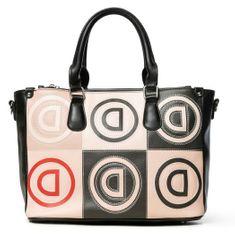 Desigual béžová kabelka Logo Patch Safi 20SAXPAT