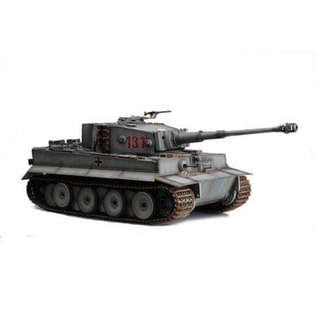 Tank Tiger I IR 1:16 šedý 2,4 Ghz