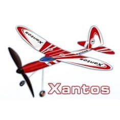 Letadlo na gumu XANTOS 74x61 cm