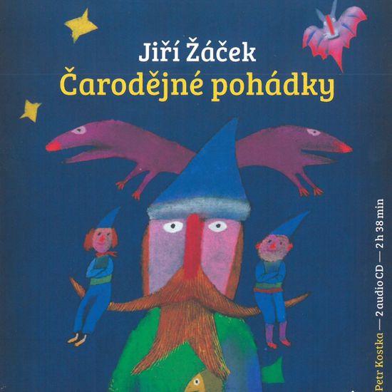 Žáček Jiří: Čarodějné pohádky (2x CD) - CD