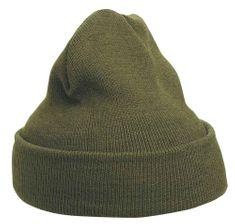 Cerva Zimní pletená čepice Mescod černá UNI