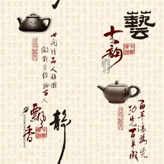 Max Tapeta vliesová Japan teapot 81252 - 0,53m x 9,5m