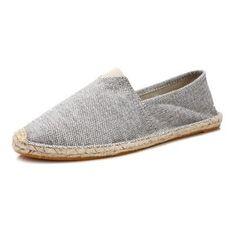 Maxeuro 920 Espadrilky textilní boty Volcano - šedo bílá