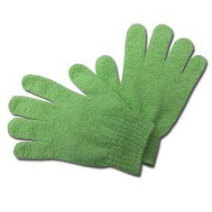 Max GR001 Peelingová rukavice masážní zelená