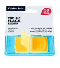 Blue Link lističi, samolepilni, 50 / 1, oranžni