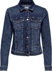 ONLY Dámska džínsová bunda ONLWESTA 15192447 Dark Blue Denim