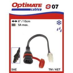 prepojovací kábel O07 (SAE-77) pre redukciu z konektora SAE na TM
