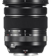 FujiFilm XF 16-80 mm f4 R OIS WR objektiv