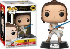 Funko POP! Star Wars: Episode 9 figura, Rey #307