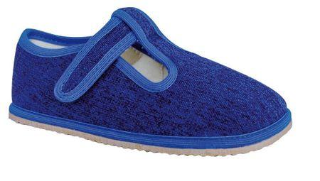 Protetika chlapčenské topánky RAVEN denim, 23, modrá