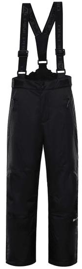 ALPINE PRO detské lyžiarske nohavice ANIKO 3,116 - 122, čierna