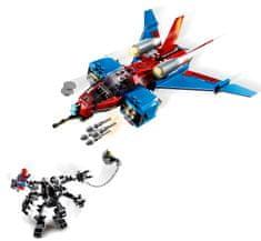 LEGO Super Heroes 76150 Pajęczy odrzutowiec kontra mech Venoma