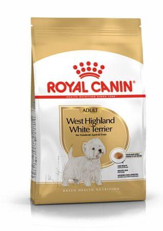 Royal Canin briketi za pse Westie Adult, 3 kg