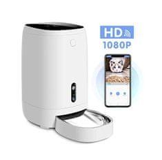 Element avtomatski dozirnik hrane za hišne ljubljenčke s kamero, 4 L