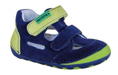 Protetika Chłopięce buty FLIP denim 19 niebieski