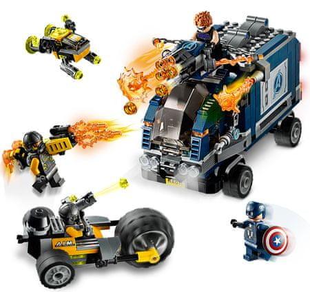 LEGO Super Heroes 76143 Bosszúállók: Harc a teherautóért
