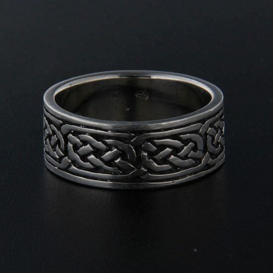 Amiatex Strieborný prsteň 13964 + Nadkolienky Sophia 2pack visone, 59