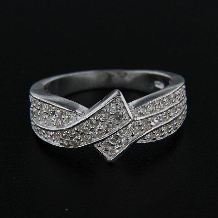 Amiatex Ezüst gyűrű 14271, 56