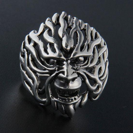 Amiatex Strieborný prsteň 13954 + Nadkolienky Sophia 2pack visone, 59