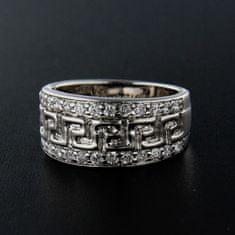 Amiatex Strieborný prsteň 13881