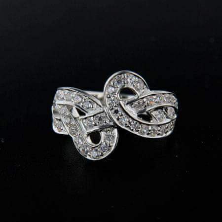Amiatex Ezüst gyűrű 14297, 57