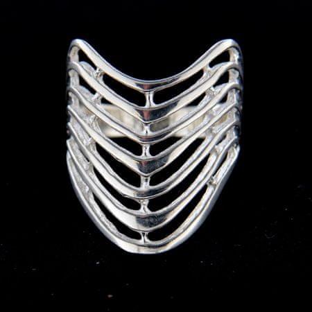 Amiatex Ezüst gyűrű 14784, 52
