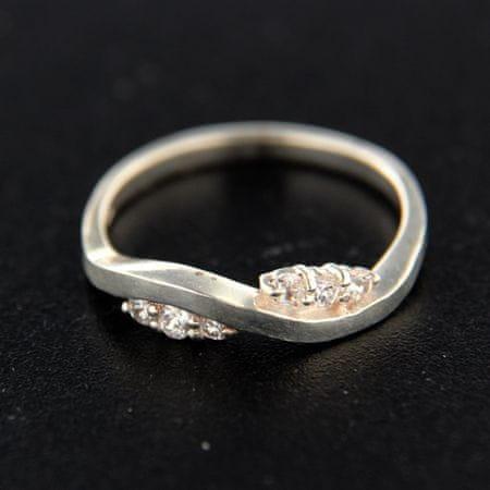 Amiatex Ezüst gyűrű 14788, 55