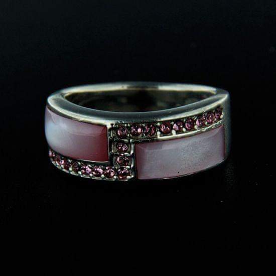 Amiatex Strieborný prsteň 14301, 52