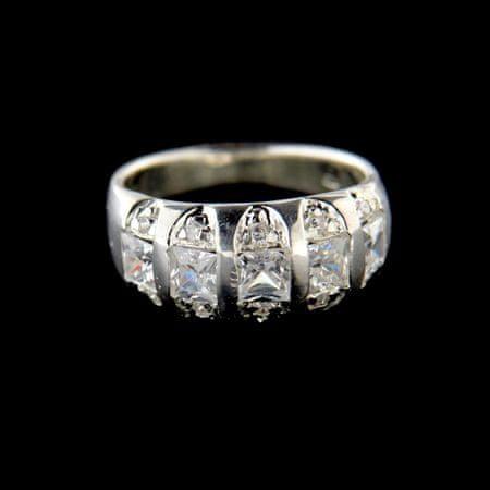 Amiatex Ezüst gyűrű 15199, 57
