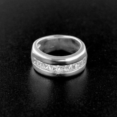 Amiatex Ezüst gyűrű 15194, 58