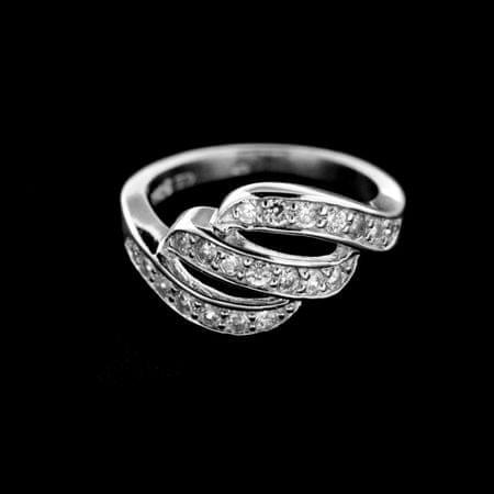 Amiatex Ezüst gyűrű 14926, 55