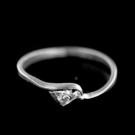 Amiatex Ezüst gyűrű 15443, 52