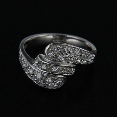 Amiatex Ezüst gyűrű 14252, 51