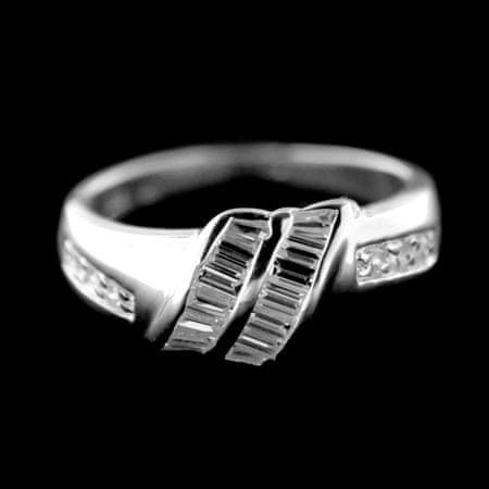 Amiatex Pierścionek srebrny 34346, 56