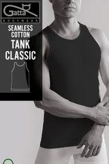 Gatta Férfi testhezálló póló Tank classic 2407s black