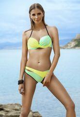 Ewlon Damski dwuczęściowy strój kąpielowy Luna green
