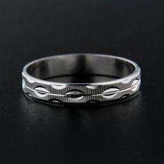 Amiatex Strieborný prsteň 13833